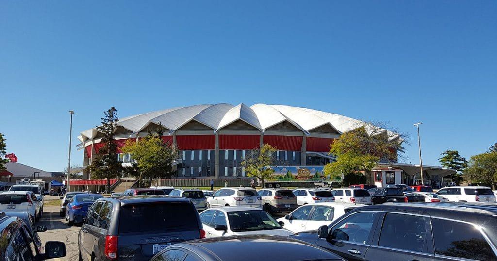 Veterans Memorial Coliseum, Madison Wisconsin.